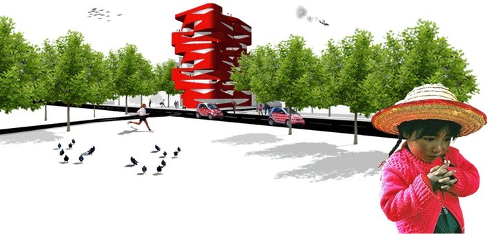PU4004 International Ideas Competition Loft Building