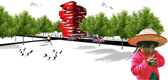 PU4004 International Ideas Competition Loft Building